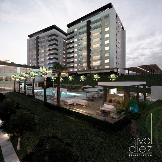 Departamento En Nivel Diez - Desarrollo Habitacional En Tiju