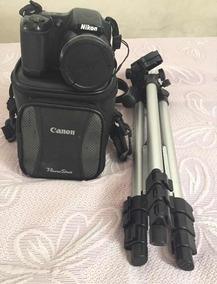 Câmera Nikon Coolpix L820 + Bolsa + Tripé