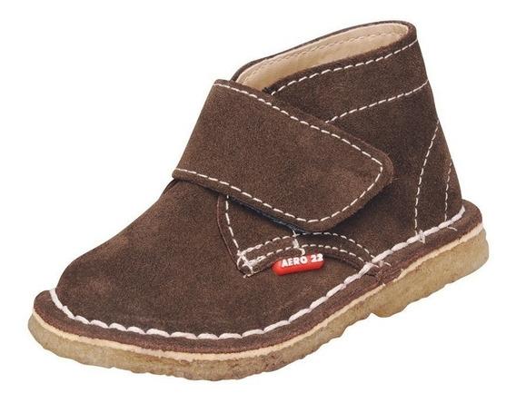 Zapatos De Cuero Aero 22. Talles 18 Al 33