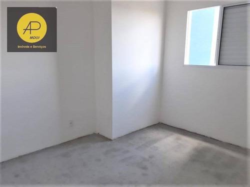 Apartamento 2 Dormitórios À Venda, 45,95 M² - Mogi Das Cruzes/sp - Ap0317