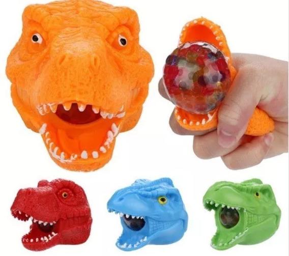 5 Dinosaurio Araña O Marciano Para Apretar Souvenir Squishy