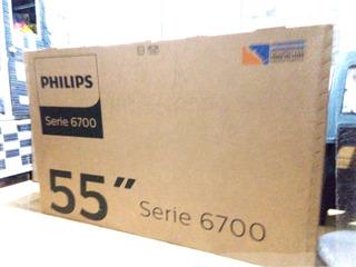 Led Phillips 55 Pug 6703 4k Smart