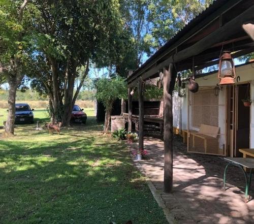 Campo En Alquiler 4 Hectáreas Y Media -casa De 122 Mts 2- Villa Elvira