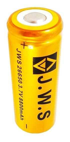 Bateria Super Gold New Jws 26650 T9 Xml P/ Lanterna T9