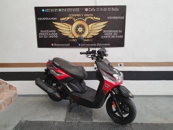 Yamaha Bws Fi 125 Mod 2018 Soat Nuevo Traspaso Incluído