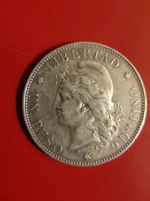 Patacon De 1 Peso Año 1882