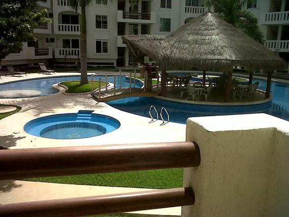 Departamento De Dos Recámaras En Cancún En Excelente Zona!!!