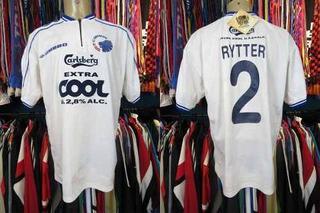 Copenhague 1999 Camisa Titular Tamanho Gg Número 2 Rytter.