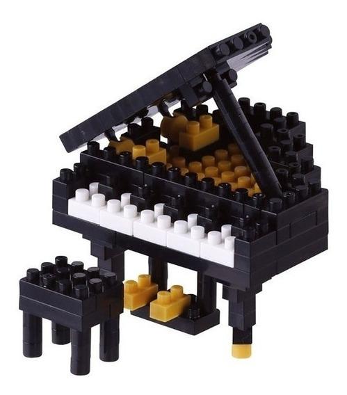 Nanoblock Piano Juguete Rompecabezas Juego Didactico Regalo