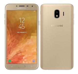 Samsung Galaxy J4 32gb J400m/ds Dourado Dual 4g - Vitrine