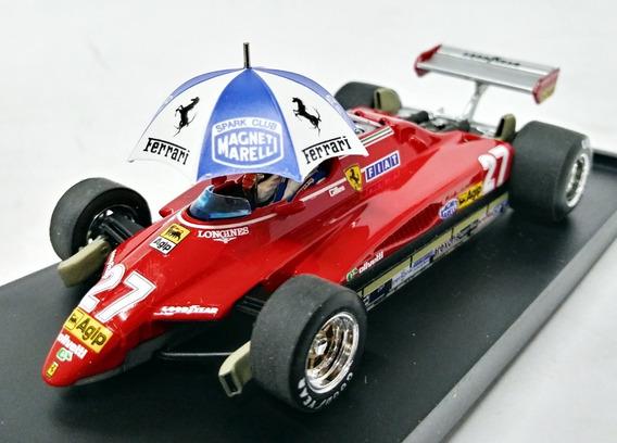 Ferrari 126c2 Turbo Brasil1982 #27 -g.villeneuve 1/43 Brumm