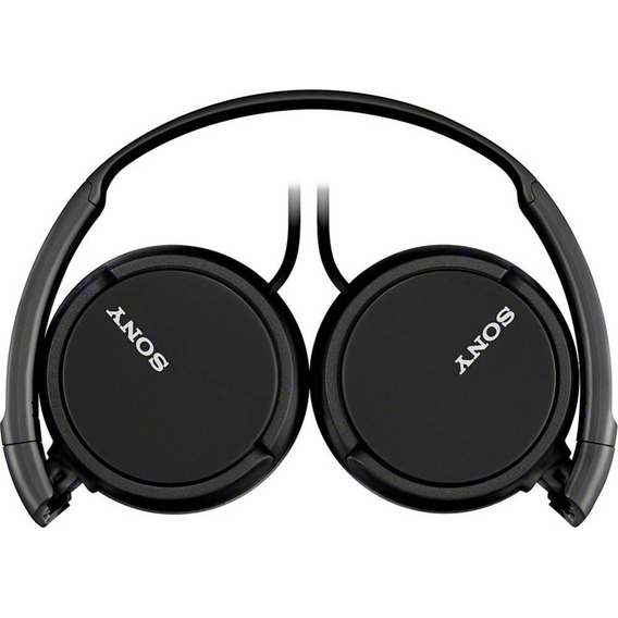 Fone De Ouvido Sony Com Microfone P2 Preto Mdr-zx110