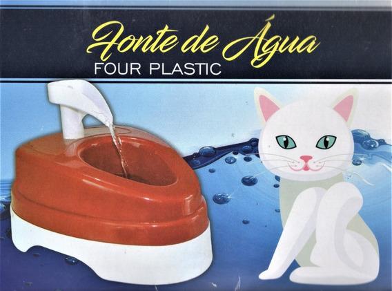 Fonte De Água Bebedouro Para Cães E Gatos Four Plastic