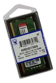 Memoria Notebook 8gb Ddr4 2400 Kingston Kvr24s17s8/8