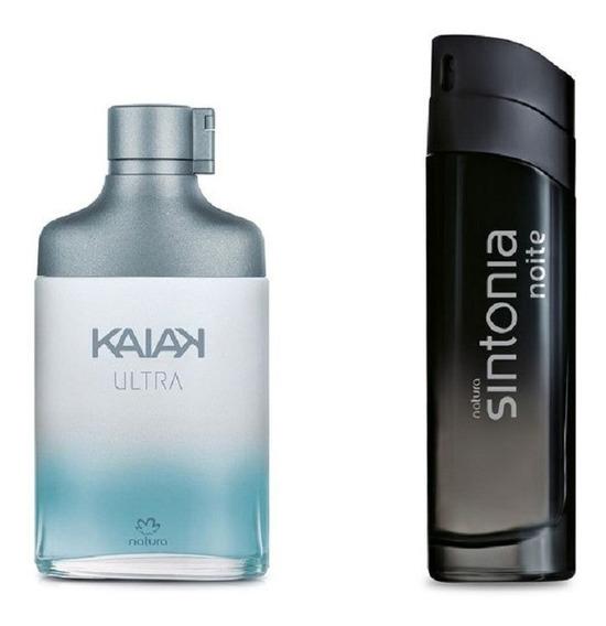 Perfumes Masculinos Natura : Kaiak Ultra + Sintonia Noite