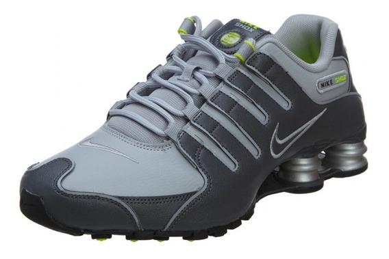 Zapatillas Nike Shox Nz Gris Hombre