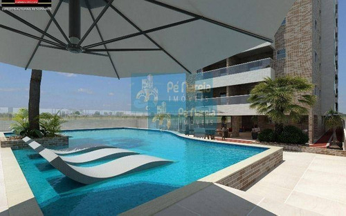Imagem 1 de 27 de Apartamento Com 2 Dormitórios À Venda, 66 M² Por R$ 340.000,00 - Canto Do Forte - Praia Grande/sp - Ap0075