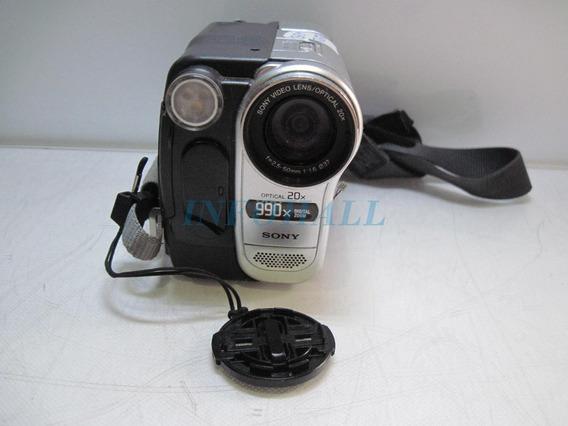 Defeito Filmadora Câmera Digital Sony Ccd-trv138 Não Liga