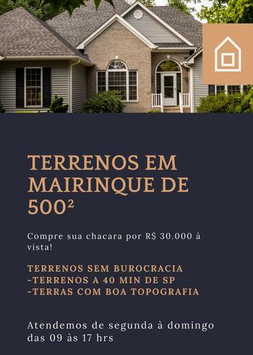 Vende-se Chácaras No Interior Por 500²