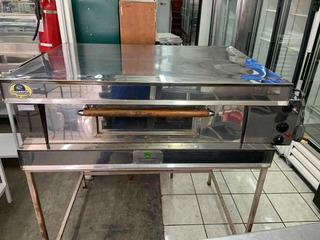 Horno Pizzeria Panaderia 3 Bandejas Pequeña Acero Inox 220v