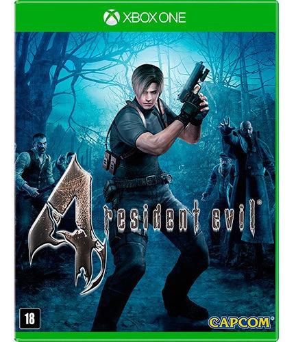 Jogo Resident Evil 4 Xbox One Mídia Física   Vitrine