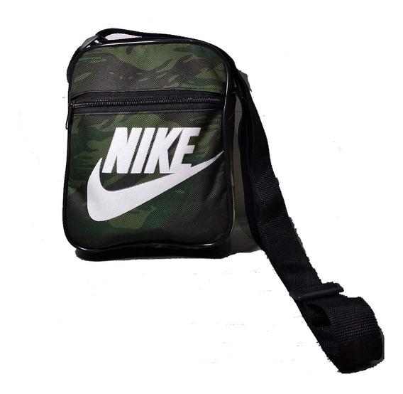 Shoulder Bag Camuflado Nsb Pochete Bolsa Transversal Militar