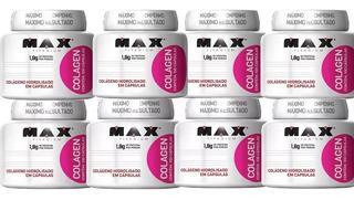 Kit Com 8 Colagen 100 Capsulas (cada) Combo De Colágeno Hidrolisado Max Titanium