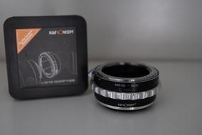 Adaptador K&f Nikon Ai/ais/f/g Para Câmeras Sony Nex E Mount