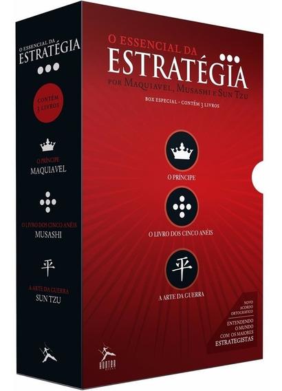 Essencial Da Estratégia 6 Livros Principe Arte Da Guerra