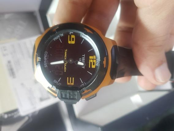 Relógio Tissot Touch T Race Aluminum