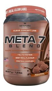 Whey Protein Meta 7 Blend 837g - Metaform