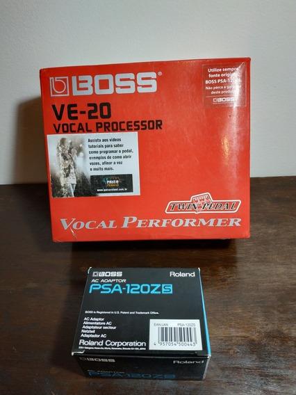 Processador Vocal Boss Ve-20