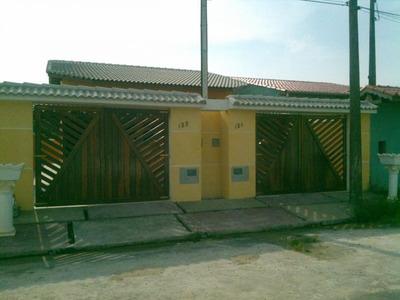 Casa A Venda Em Itanhaém, Balneário Tupy, 2 Dormitórios, 1 Suíte, 2 Banheiros, 2 Vagas - 252