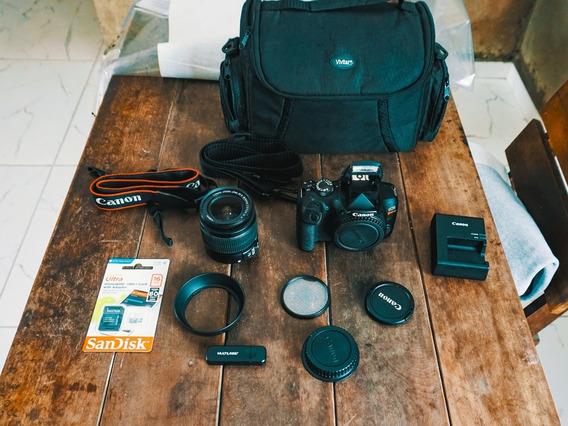 Canon T6 + Bolsa + Lente 18-55mm + Cartão 16gb Frete Grátis