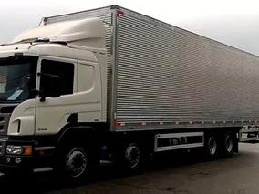 Scania P310 Bi Truck Baú Aluminio