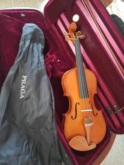 Violin 4/4 Praga Detalle En Arco