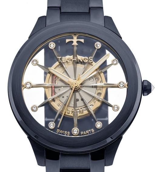 Relógio Technos Elegance Esqueleto - F03101ad/4w
