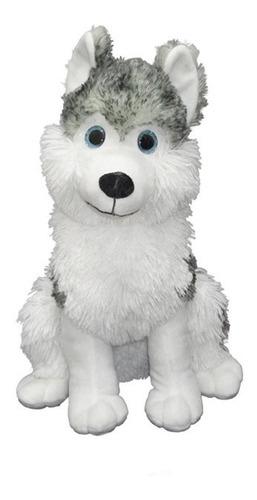 Perro Siberiano De Peluche 45 Cm. Original Phi Phi Toys