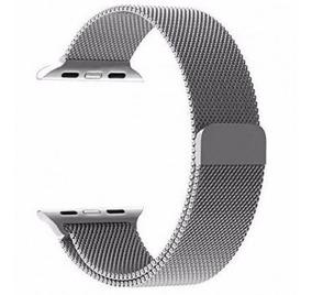 Pulseira Milanese Aço Para Apple Watch 38mm 40mm 42mm 44mm