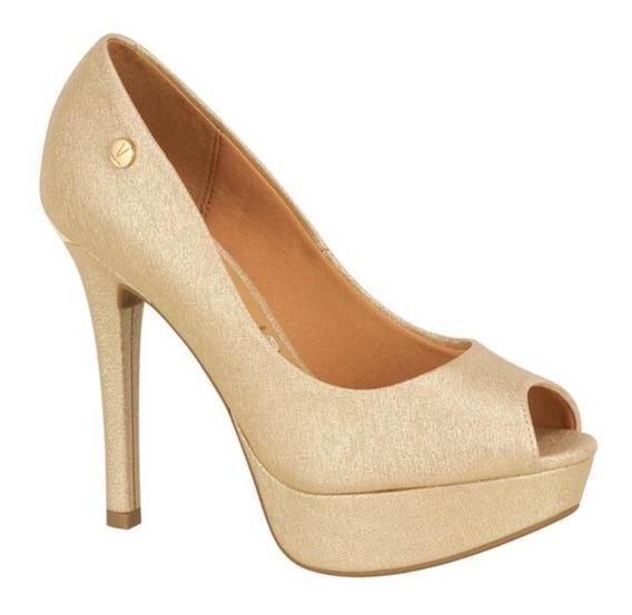 Sapato De Festa Feminino Scarpin Vizzano Salto Alto
