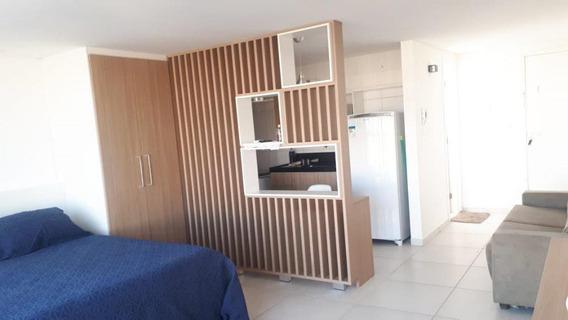 Flat Em Ponta De Campina, Cabedelo/pb De 35m² 1 Quartos Para Locação R$ 1.500,00/mes - Fl261389