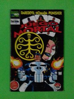 Marvel Comics -juego Mortal # 3 - Ed.simbolo 1996 - 24 Pag
