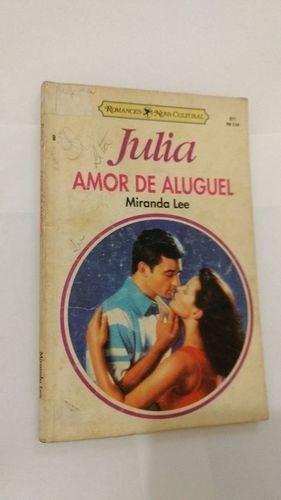 Livro Amor De Aluguel Miranda Lee