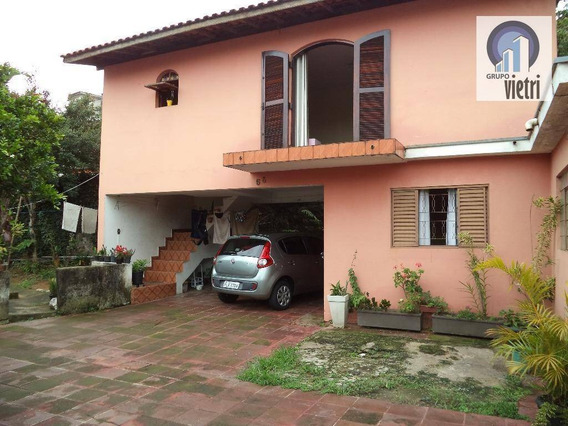 Casa Térrea Com 2 Dormitórios, Sala , Cozinha, Banheiro, Lavanderia 4 Vagas E Edícula Suíte Aceita Financiamento - Ca0732
