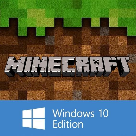 Minecraft Windows 10 Edition Pc Original 25 Dígitos Original