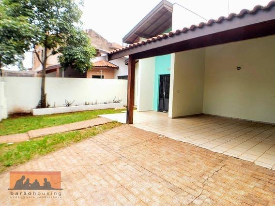 Casa Com 4 Dormitórios Para Alugar, 175 M² Por R$ 3.500,00/mês - Cidade Universitária - Campinas/sp - Ca1964