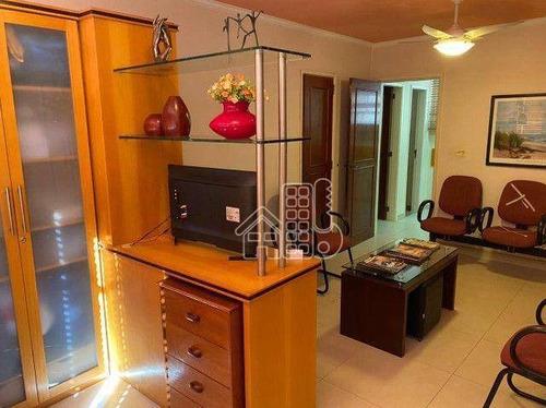 Sala À Venda, 87 M² Por R$ 500.000,00 - Icaraí - Niterói/rj - Sa0192