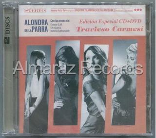 Alondra De La Parra Travieso Carmesi Cd+dvd