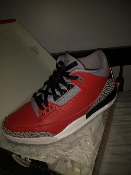 Jordan 3 Red Cement