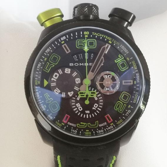 Reloj Caballero Bomberg Bolt-68 Chronograph Original